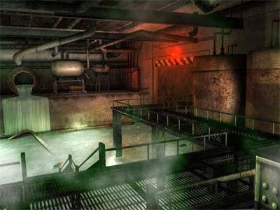 background 3D - décor de jeu