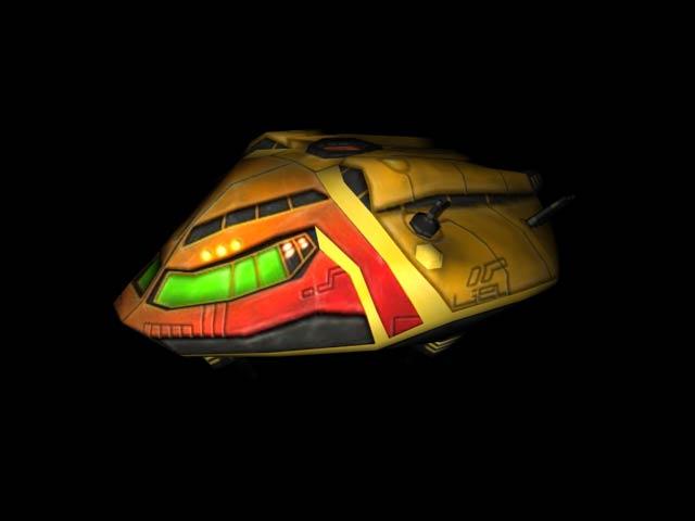 vaisseau 3D