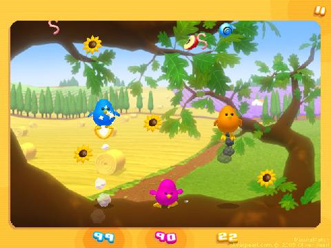 mini-jeu des oiseaux - screenshot de Minute Match