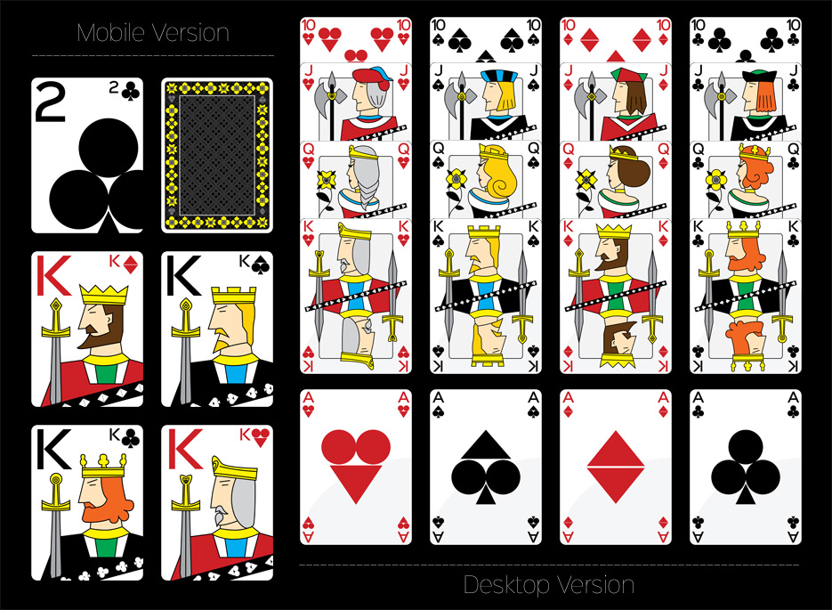 graphismes 2D, cartes à jouer