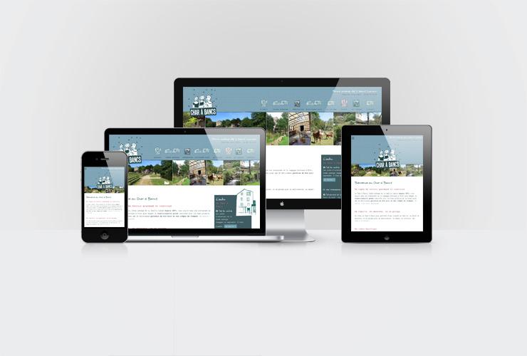 site web responsive pour un restaurant en Bretagne