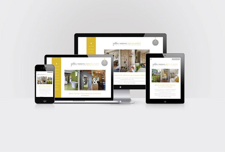 site Web responsive pour gîtes et chambres d'hôtes